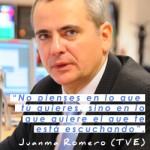 La frase de Juanma Romero