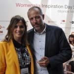 Marina con Albert Bosh, aventurero y emprendedor