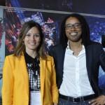 Marina Fdz y Amuda Goueli (CEO Destinia.com)