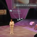 Blanca Gómez, MICROSOFT, en un momento de su ponencia