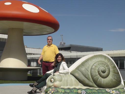 Marina Estacio y Hugo González Lara