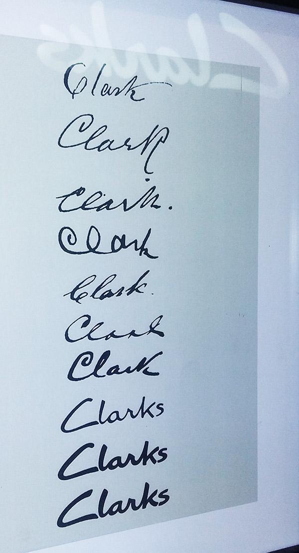 firmas creadores marca clarks