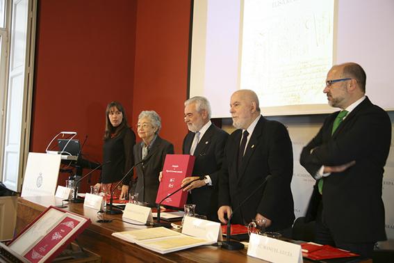 Los autores de la obra Autógrafos de Miguel de Cervantes Saavedra
