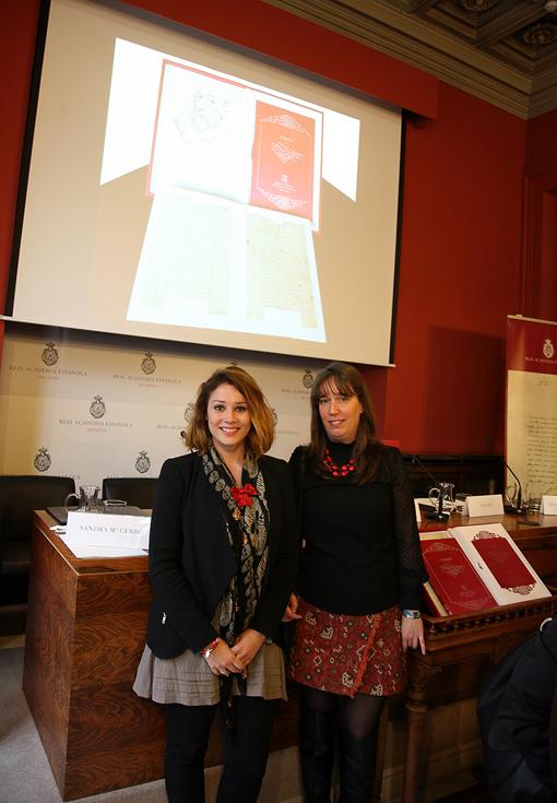 Marina Estacio y Sandra Cerro