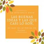 las buenas ideas