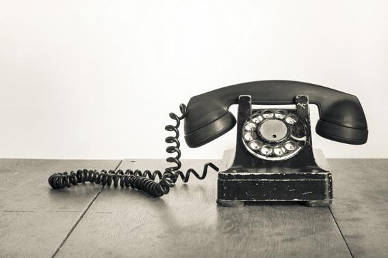 comunicacion al telefono