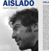 """PRESENTACIÓN LIBRO """"AISLADO"""" DE QUICO TARONJÍ"""
