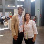 Cristina Álvarez con el CEO de Imersivo Borja Tamames