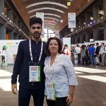 Cristina Álvarez con Daniel Rodríguez Vellarde CEO de VimDos