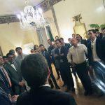 Recepción del embajador de Argentina Federico Ramón Puerta
