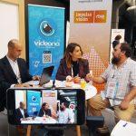 Momento de la entrevista a Iago Fernández de Videona