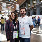 Marina Estacio y con el CEO de Aplázame Fernando Cabello Astolfi
