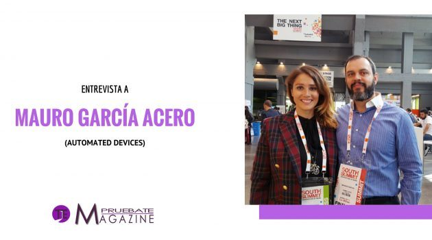 ENTREVISTA A STARTUP AUTOMATED DEVICES EN SOUTH SUMMIT 2016
