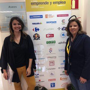 Marina Estacio y Cristina Álvarez Pagán