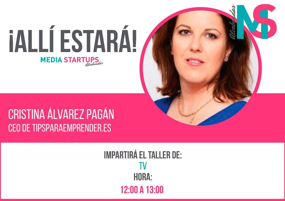 Cristina Álvarez Pagán Media Startups