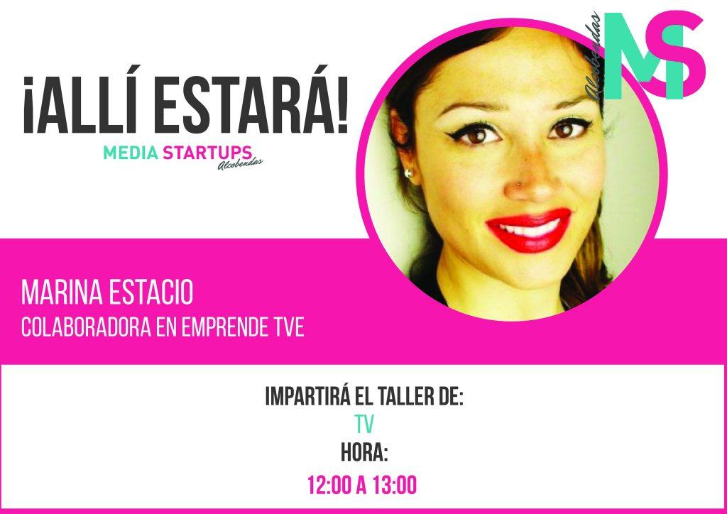 Marina Estacio Media Startups Comunicación