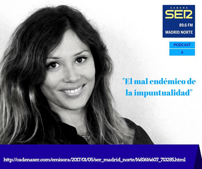 Marina Estacio, puntualidad. Pruébate Magazine